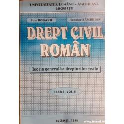 Drept civil roman. Teoria...