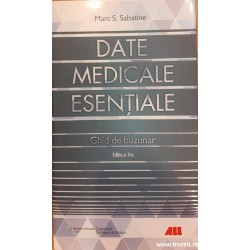 Date medicale esentiale....