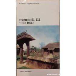 Memorii III 1919-1930