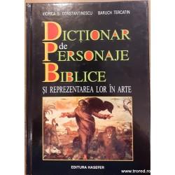 Dictionar de personaje...
