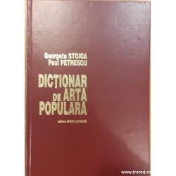 Dictionar de arta populara